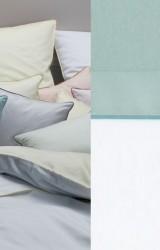 Graser-Bettwäsche-Solo-Mio-Feinsatin-weiß-opal-meergrün