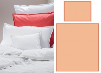 Graser-Bettwäsche-Faro-Feinsatin-apricot-terracotta