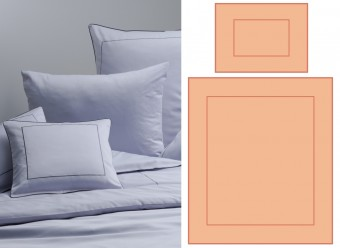 Graser-Bettwäsche-Lagos-Feinsatin-apricot-terracotta