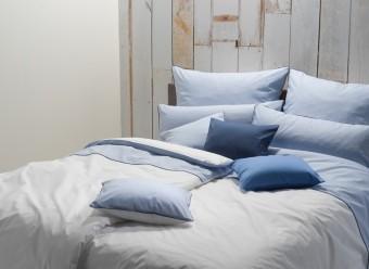 Graser-Bettwäsche-Vichy-Perkal-blau