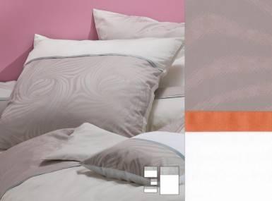 Vorschaubild graser-bettwaesche-gemini-damast-907257weiss-kaschmir-terracotta