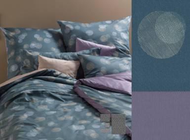 Vorschaubild graser-bettwaesche-lichtpunkte-satin-6287-ebenholz-peridot
