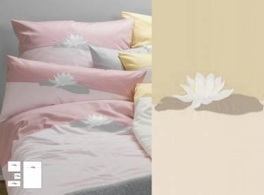 Vorschaubild graser-bettwaesche-seerose-satin-5818-elfenbein-mandel