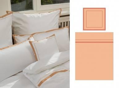 Vorschaubild graser bettwaesche glarus satin apricot terracotta 5257