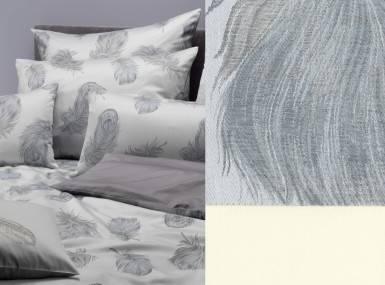 Vorschaubild graser bettwaesche piuma damast 6919 mondstein-kiesel