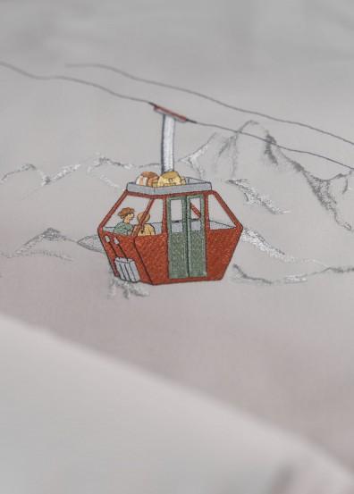 Graser Bettwäsche Gondola - Abenteuerreise übers Gebirge